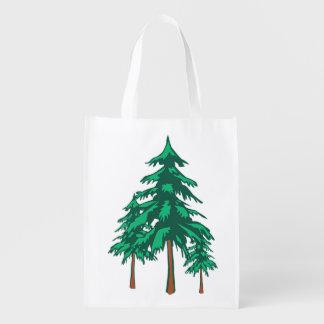 País de las maravillas fresco del invierno de los bolsas para la compra