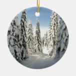 País de las maravillas Nevado Ornaments Para Arbol De Navidad
