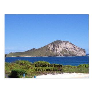 País de Waimanalo-Dioses isla de Oahu de Hawaii Tarjetas Postales