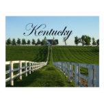 País del Bluegrass de Kentucky Postales