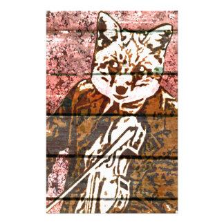 País del Fox del violín Papeleria