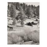 País del invierno tarjetas postales