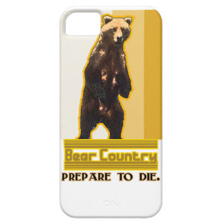 País del oso funda para iPhone 5 barely there