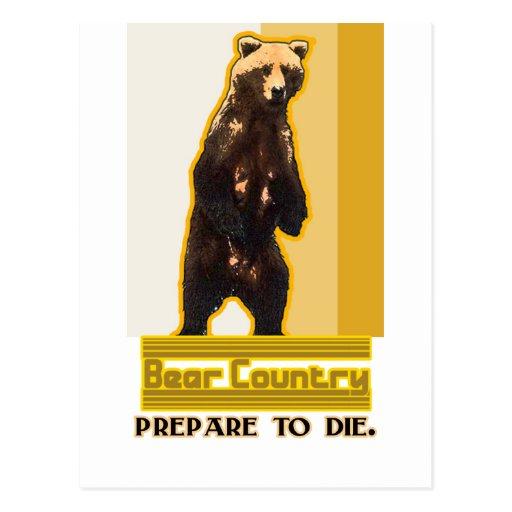 País del oso postal