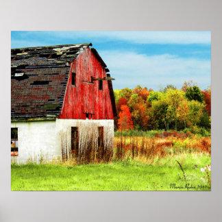 País del otoño póster