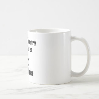 País del servicio de la sobrina del ejército taza de café