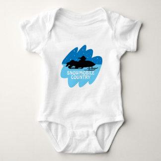 País del Snowmobile Mameluco De Bebé