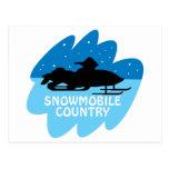 País del Snowmobile Postal