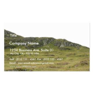 País escocés plantilla de tarjeta de negocio