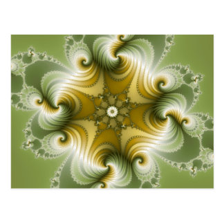 País Fayre - arte del fractal Postal