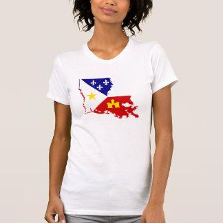País francés de Luisiana Acadiana Cajun del Camisas
