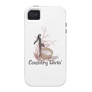 País Livin Vibe iPhone 4 Carcasas
