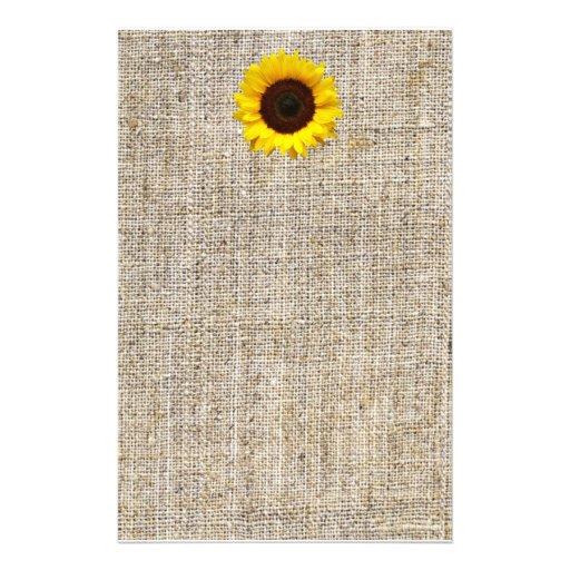 país moderno que casa la arpillera amarilla del gi papelería personalizada
