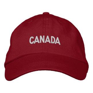 País norteamericano canadiense de Canadá patriótic Gorra De Beisbol