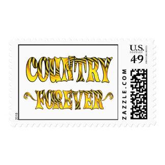 País para siempre sellos