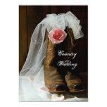 País subió casando la invitación invitación 12,7 x 17,8 cm