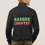 País vasco e ikurriña, chaqueta