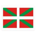 País Vasco (Euskadi) flag Postcard