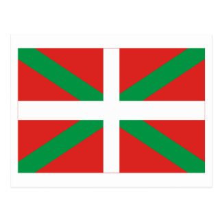 País Vasco Euskadi flag Postcards