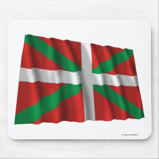 País Vasco (Euskadi) waving flag Mouse Pad