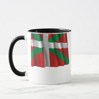 País Vasco (Euskadi) waving flag Mug