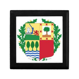 Pais Vasco (Spain) Coat of Arms Keepsake Boxes