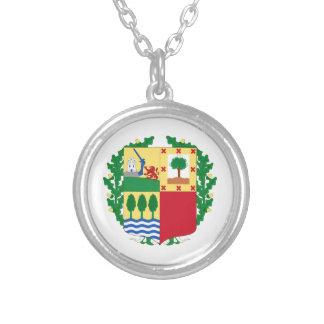 Pais Vasco (Spain) Coat of Arms Personalized Necklace