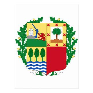 Pais Vasco (Spain) Coat of Arms Postcard
