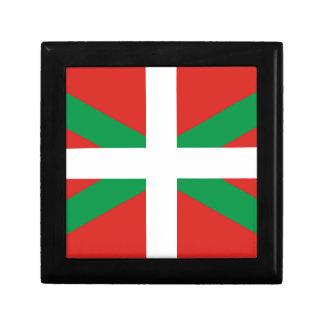 Pais Vasco (Spain) Flag Jewelry Box