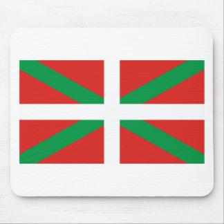 Pais Vasco (Spain) Flag Mousepads