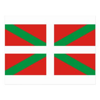 Pais Vasco (Spain) Flag Postcard