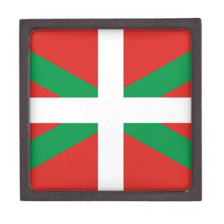 Pais Vasco (Spain) Flag Premium Keepsake Box
