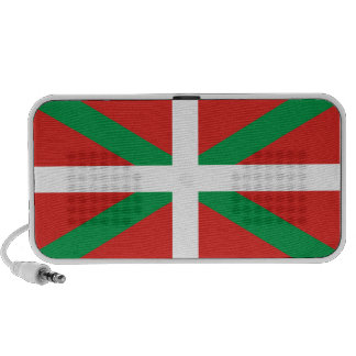 Pais Vasco (Spain) Flag iPod Speaker