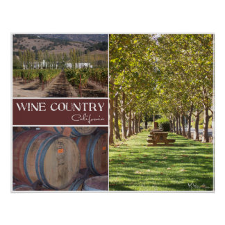País vinícola, California Impresiones