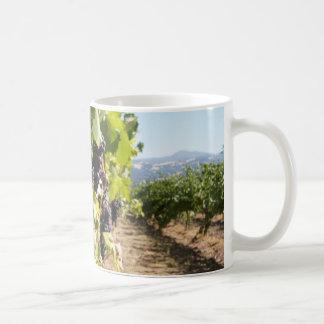 País vinícola de California Taza Básica Blanca