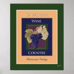 País vinícola de California, Temecula Valley Impresiones