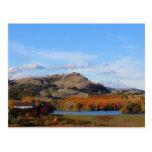 País vinícola de Napa Valley en la caída