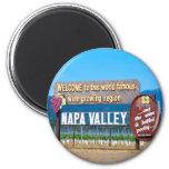 País vinícola de Napa Valley Iman De Frigorífico