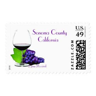 País vinícola del California del condado de Sonom