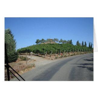 País vinícola felicitación