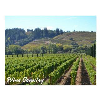 País vinícola Vintards Postal