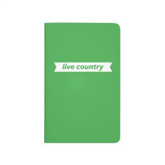 País vivo cuaderno