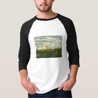 Paisaje 1170 de la roca de la chimenea camisas