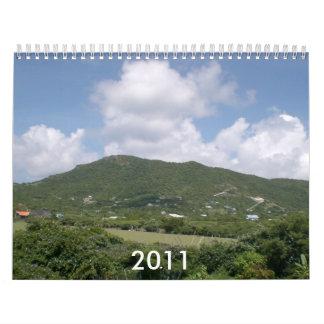 Paisaje 2011 calendario de pared