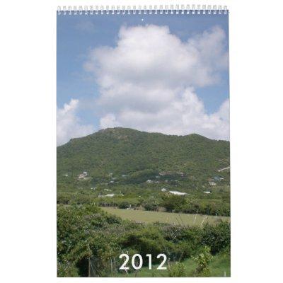 Paisaje 2012 calendario