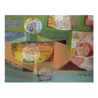 Paisaje abstracto Buenos Aires 21.75x14.5 Postales