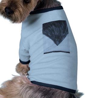 Paisaje abstracto con la caída de Ícaro Camisetas De Perro