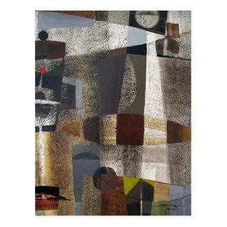 Paisaje abstracto de Potosi Bolivia 20,3 x 28,9 Tarjetas Postales