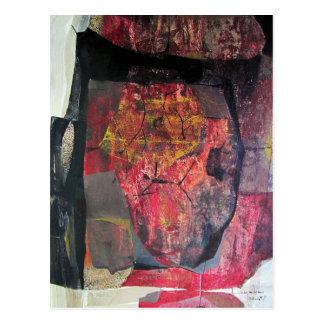 Paisaje abstracto de Potosi Bolivia 21.6x34 Postal