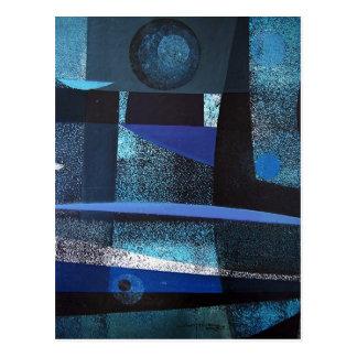 Paisaje abstracto de Potosi Bolivia 21x26.9 Postales